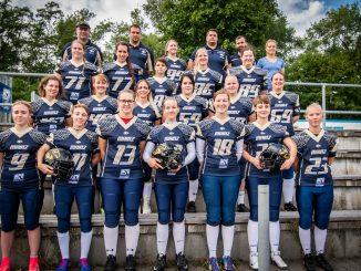 Teamfoto der Mainz Golden Eagles 2019-08-11