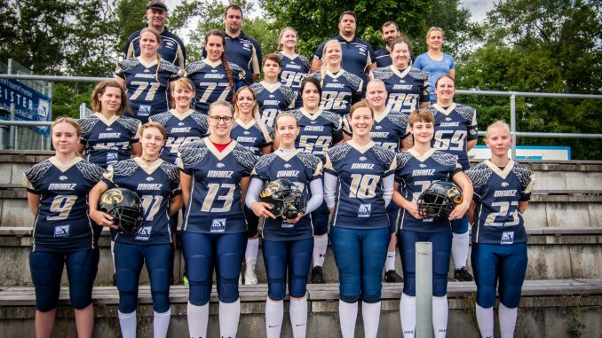 Teamfoto der Mainz Golden Eagles 2019-08-11